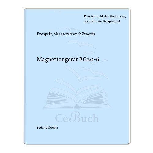 Magnettongerät BG20-6