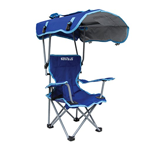 Swimways Kids Canopy Chair – Camping Chair (Blue)
