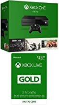 Xbox One 1TB Console - Tom Clancy's Rainbow Six Siege Bundle with Xbox Live 3 Month Gold Membership [Digital Code]