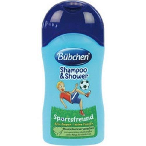 Bübchen Shampoo & Duschgel 50ml Sportsfreund, 10er Pack 10 x 50 ml