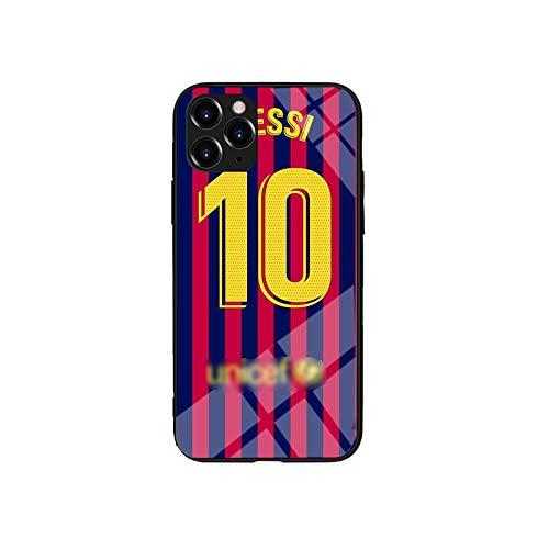 QGGESY Estuche Ultrafino Anti-caída para teléfono móvil/Cubierta Protectora (Leo Messi),Adecuada para la Serie iPhone12 Mini,iphone12/12pro,iphone12 Pro MAX,color1,iPhone12 Mini