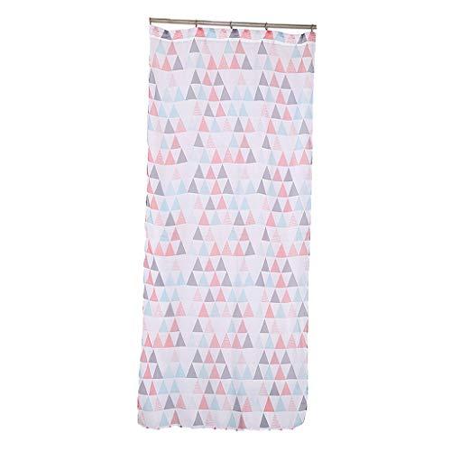 Eastery Moderne Dreieck Fenstervorhang Vorhang Vorhänge Gardine Voile Drapieren Bildschirm Schiere Einfacher Stil Volant Voile Rot (Color : Colour, Size : Size)