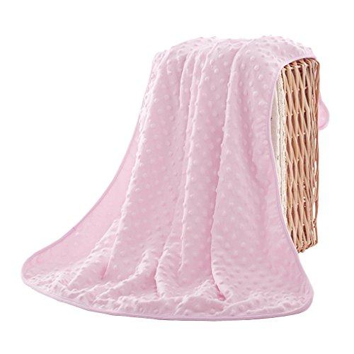 Baby Kuscheldecke, Baby Schlafsack aus Baumwolle Kuscheldecke Baby Decke Haube Neugeborene Wearable Decke Baby Badetuch Blau Pink