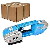 YHWD Flejadora Eléctrica, Flejadora, Ancho 13-16 mm, Flejadoras para PP/Pet para Empacadora Eléctrica Portátil Palés De Caja