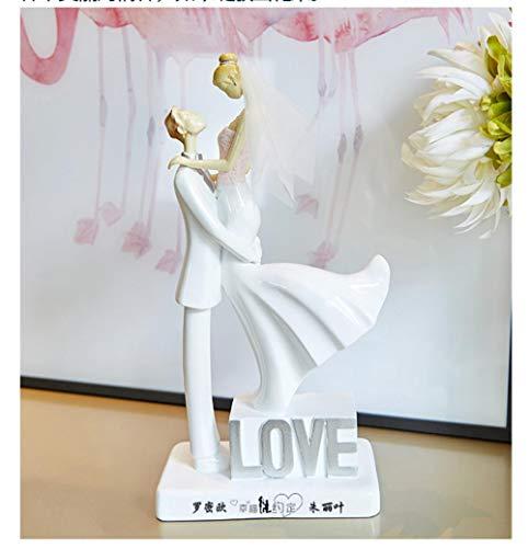 Soode Gepersonaliseerde Liefde Cake Topper Bruid en Groom Bruiloft Cake Topper koppels beeldjes Aangepaste naam voor u