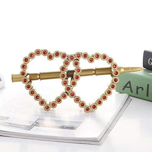Hancoc Pfeil Tragen Doppelherz Modell Home Wohnzimmer Studie Büro Dekoration Handmade Metall Handwerk Besondere Kreative Liebe Geschenk Souvenirs