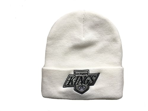 Mitchell & Ness, berretto da adulto, NHL LOS ANGELES KINGS (EU175) (White), Taglia unica