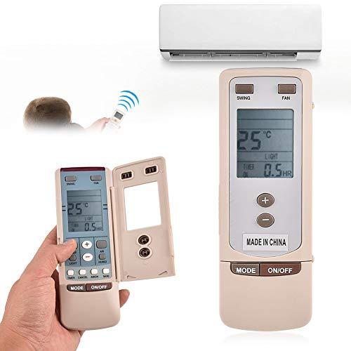 Mavis Laven Telecomando AC, Telecomando sostitutivo per Gree Y512 Y502 Condizionatore d Aria