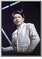 韓国のKPOPボーイグループBTS JUNG KOOK 大人の子供のための5Dダイヤモンド塗装キット-フルドリルDIYラウンドダイヤモンドアートナンバーキット、クロスステッチ刺繡 30X40cm