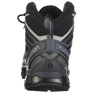 Salomon Men's X Ultra 3 Mid GTX Hiking Boots, Black/India Ink/Monument, 10