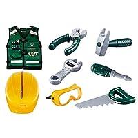 ACAMPTAR おもちゃ修理ツールおもちゃDIYプレイハウス修理シミュレーションツールおもちゃセット 子供と男の子用ギフトAS167997
