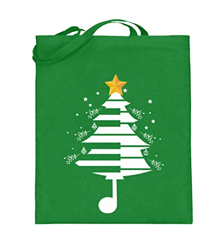 Chorchester Der Weihnachtsbaum für Klavier Musiker - Jutebeutel (mit langen Henkeln)