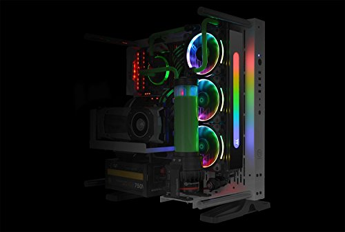 Thermaltake Pacific Radiator PLUS 16.8 Million Colors Digital LED Panel Designed for Pacific RL360 & CL360 Radiators CL-W220-PL00SW-A