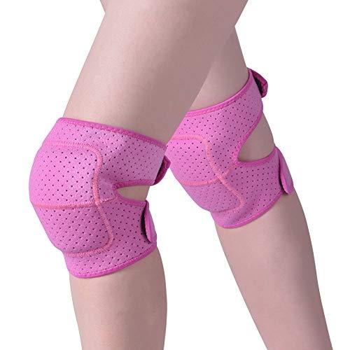 Hivexagon Rodillera Transpirable y Anti Deslizante de Esponja Gruesa para Yoga, Bailes, Ciclismo, Correr SP132