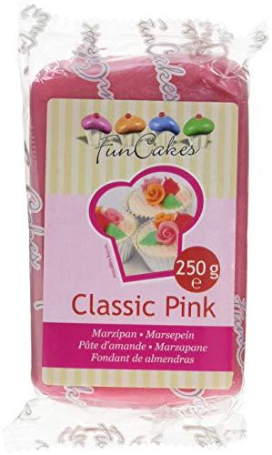 FunCakes mandelhaltige Zuckermasse Classic Pink, 1er pack (1 x 250g)