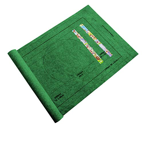 MAWOLY Puzzle Roll Mat Puzzle Storage Puzzle Saver, Jigroll Bis zu 1500 Stück AY04