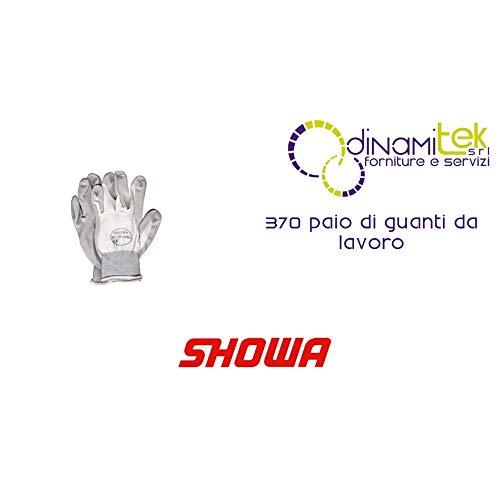 Showa Gloves - 370 5410306 NBR, Nitrile EC 2-White, Size 6 S