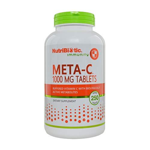 Nutribiotic Meta-c Tabs, 1000 mg, 250 Count