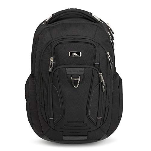 High Sierra Endeavor Business Elite Sac à dos, Mixte, 103960-1041, Noir , Taille unique