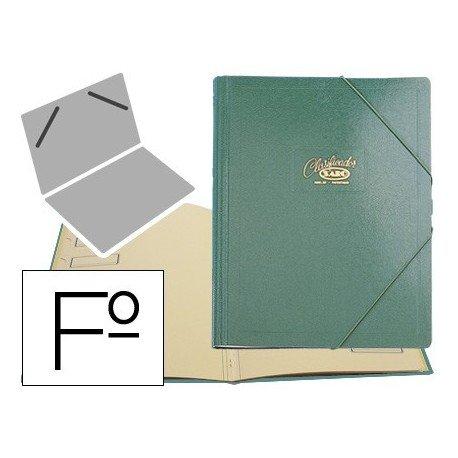 Saro 30-V - Carpeta clasificador, color verde