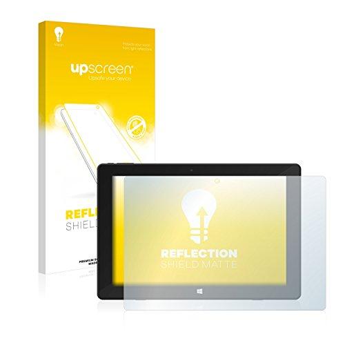 upscreen Entspiegelungs-Schutzfolie kompatibel mit TrekStor Surftab Twin 10.1 2015 – Anti-Reflex Bildschirmschutz-Folie Matt