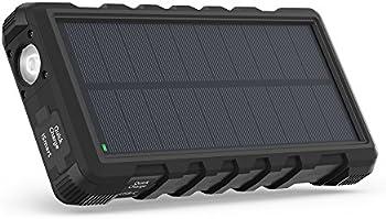 RAVPower 25000mAh Portable Solar Charger Power Bank