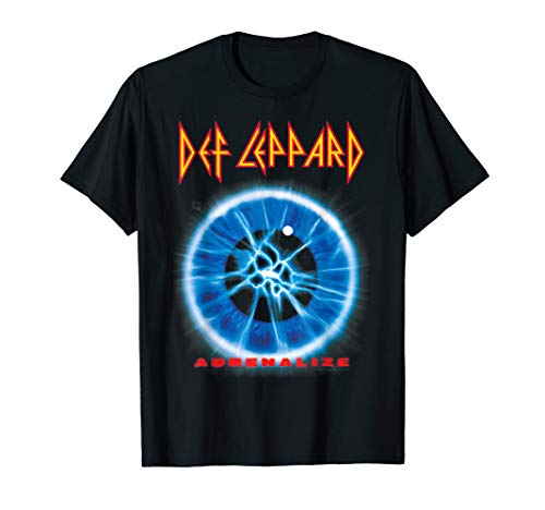 Adrenalize Def Leppard T Shirt, 5 Colours for Men or Women, S to 3XL