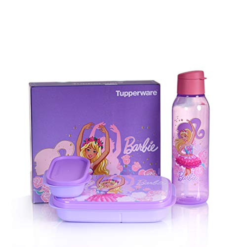 Tupperware Barbie Kids Lunch Set
