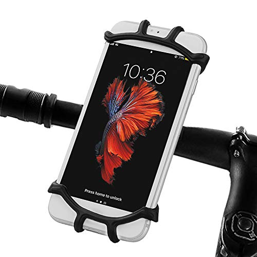 Great Features Of opamoo Bike Bicycle Phone Mount Holder - Bicycle Motorcycle, Black, Size No Size