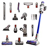 Dyson Cyclone V10 Animal Pro with 15 Tools Including Torque Drive Cleaner Head, Mini Motorized Tool and Clean Everywhere Kit, Lightweight Cordless Stick Vacuum Cleaner Cord-Free Powerful Suction, Blue