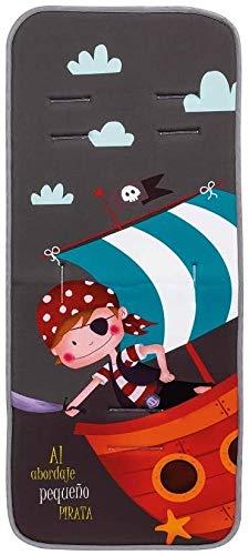 Colchoneta silla paseo universal transpirable de algodon (pirata al bordaje)