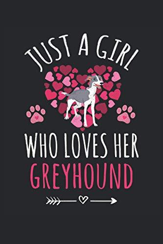 Greyhound Lined Notebook: Greyhound Notebook - Greyhound Journal 120 Pages for Greyhound Owner - Greyhound Lover - Greyhound Dog Mom