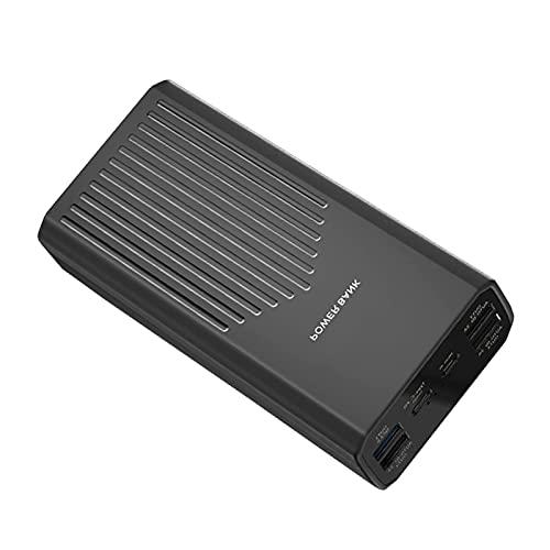Tcbz Power Bank PD 20W USB C Cargador portátil 40000mAh Paquete de batería Externo Cargador de teléfono con 5 Salidas y 2 entradas QC3.0 Cargador de Alta Velocidad para teléfonos Inteligentes, ta