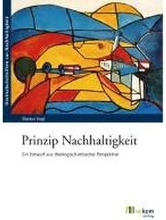 Prinzip Nachhaltigkeit: Ein Entwurf aus theologisch-ethischer Perspektive (Paperback)(German) - Common