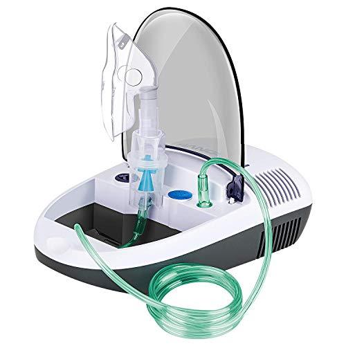 Hangsun Aerosol a Pistone Inalatore Nebulizzatore Silenzioso Portatile per Adulti e Bambini, con accessori per adulti e bambini