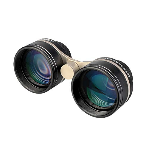 SVBONY SV407 Binoculars for Stargazing and Planets,Wide Angle,for Adults,2.1x42mm, High Power Binoculars, IPX6 Waterproof,for Atronomy,Stars,Sky Watching,Museum,Wildlife Viewing