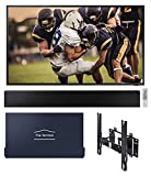Samsung QN75LST7TA The Terrace 75' Outdoor-Optimized QLED 4K UHD Smart TV with a Complete Terrace Bundle That Includes a Soundbar, Full Motion Wall Mount, and TV Dust Cover (2020)