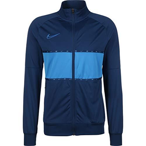 Nike Dri-Fit Academy Veste Homme, Bleu (Coastal Blue/Lt Photo Blue/Lt Photo Blue), M