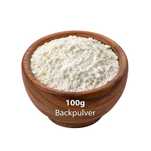 Backpulver 100 g - Extra Feines Backpulver - Zum Backen Kochen für beste Qualität