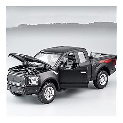 GEBAN Vehículo a Escala 1:32 para Raptor F150 Rueda Grande reajuste aleación Diecast Modelo de Coche Adornos para colección para niños (Color : D)