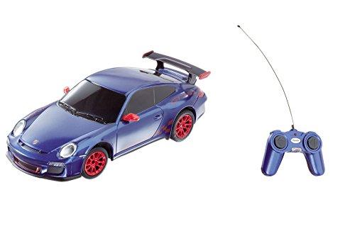 Mondo Motors - 63098 - Voiture Radio Commande - Porshe GT3 RS - Echelle 1/ 24 - Blanc/Rouge