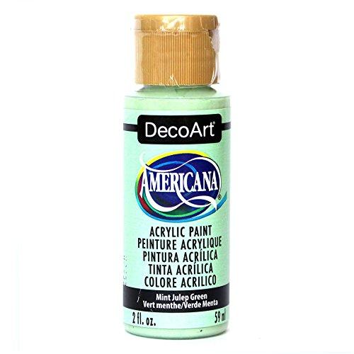 DecoArt Americana Acrylic Paint, 2-Ounce, Mint Julep Green