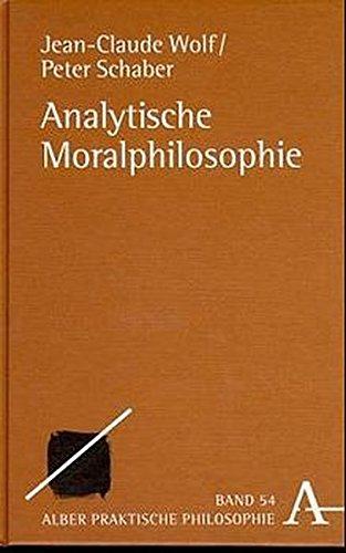 Analytische Moralphilosophie (Praktische Philosophie)