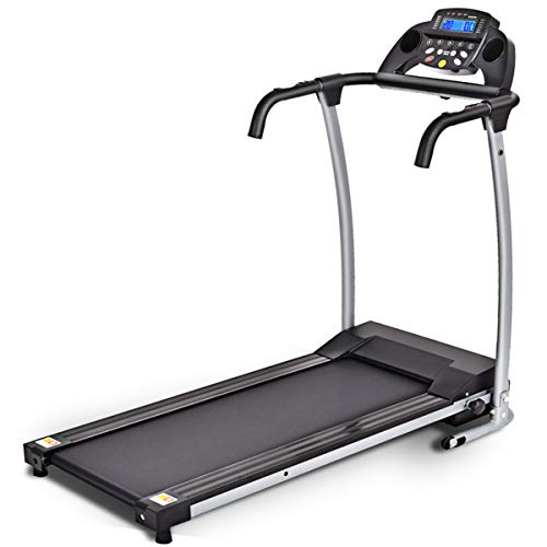 Goplus 800W Folding Treadmill Electric Motorized Power Fitness Running Machine with LED Display and...