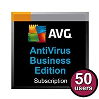 AVG AntiVirus Business Edition for 50 Computers for 2 Years
