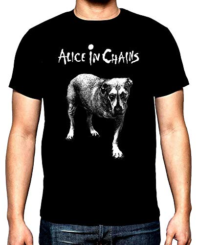 Alice In Chains Tripod Mens Short-Sleeve T-Shirt Black S