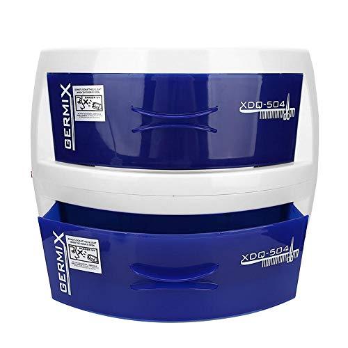Nettoyage Quotidien des Ménages Double Couche UV Boîte de Nettoyage Nail Art Tool Ultraviolet Ozone Cleaning Cabinet Device(EU 220V)