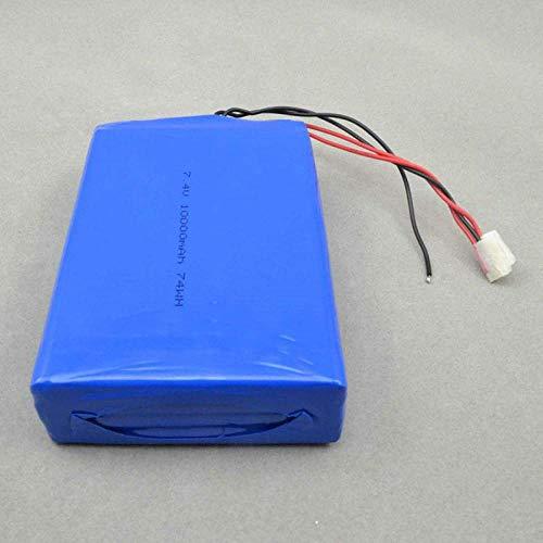 Batería Recargable 1160110 Batería Recargable de polímero de Iones de Litio Batería Recargable de polímero de Iones de Litio 7,4 V 10000 Mah Azul-Azul