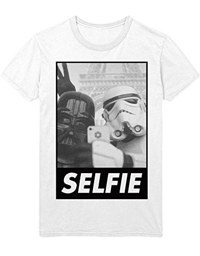 T-Shirt Darth Selfie Trooper H999941 Weiß L