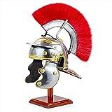 Mediaval - Casco de armadura decorativo para el rey, espartano armadura, casco de caballero, perfecto para regalo y decoración del hogar y la oficina